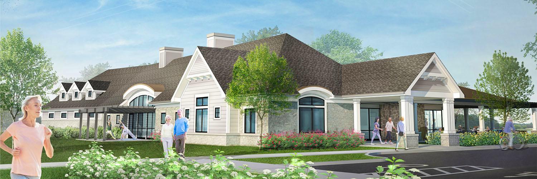 Prairie Landing Clubhouse Rendering