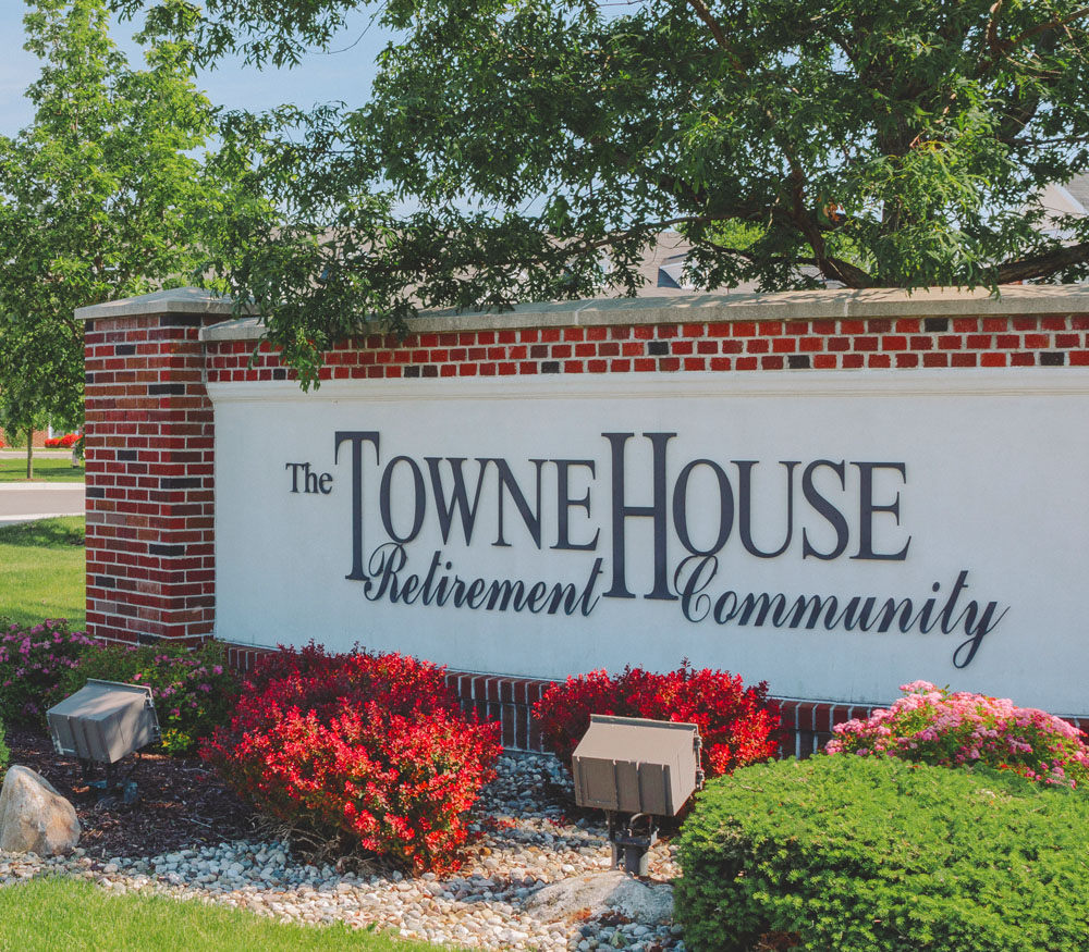 Towne House street sign