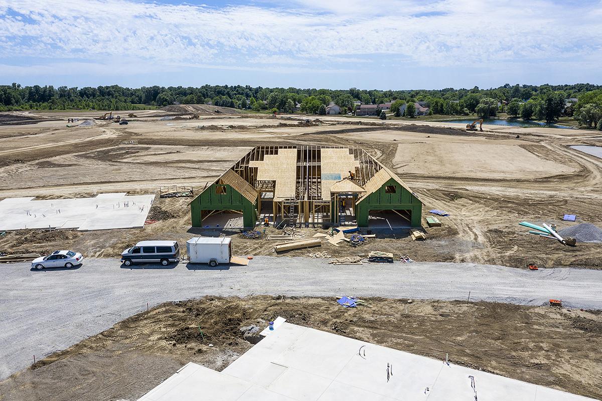 Prairie Landing Construction update 07/30/20 - 2